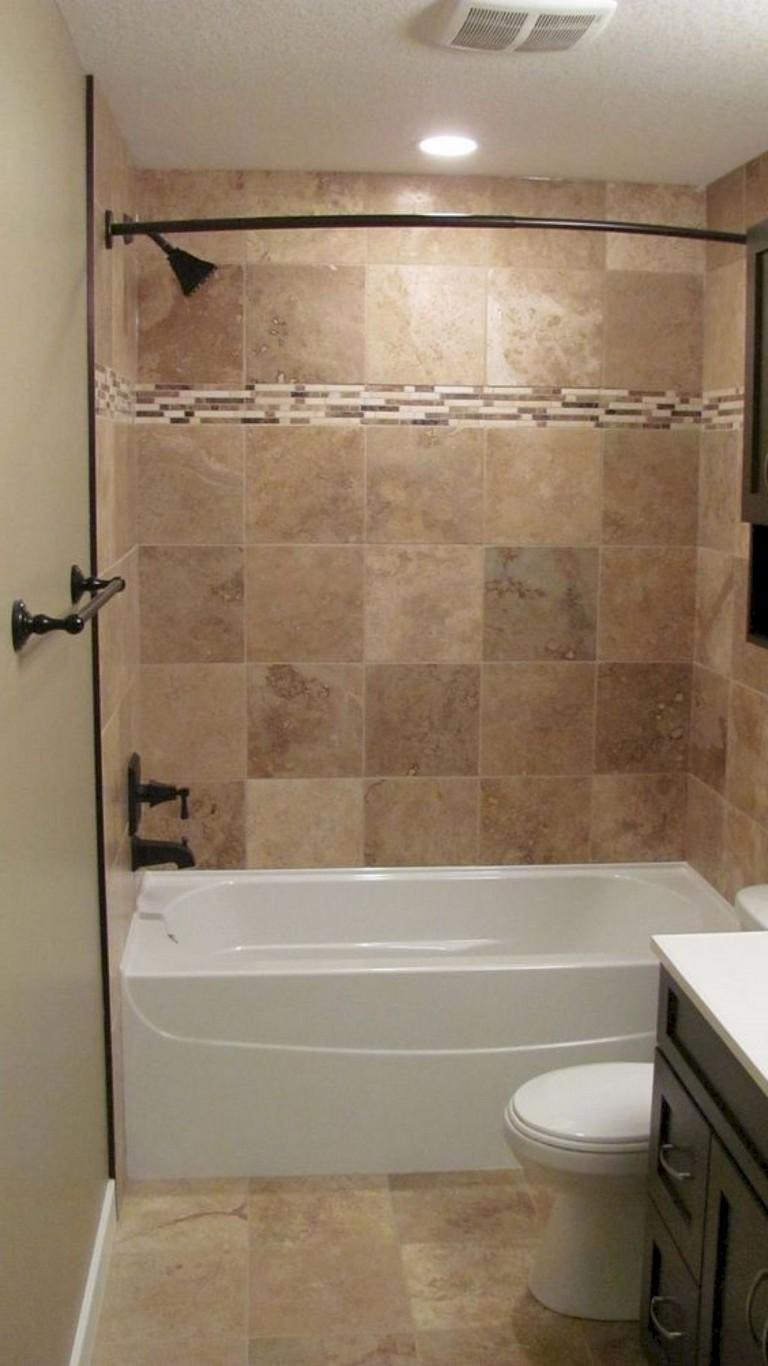 75+ Rustic Farmhouse Bathroom Tiles Ideas on Rustic Farmhouse Farmhouse Bathroom  id=33138