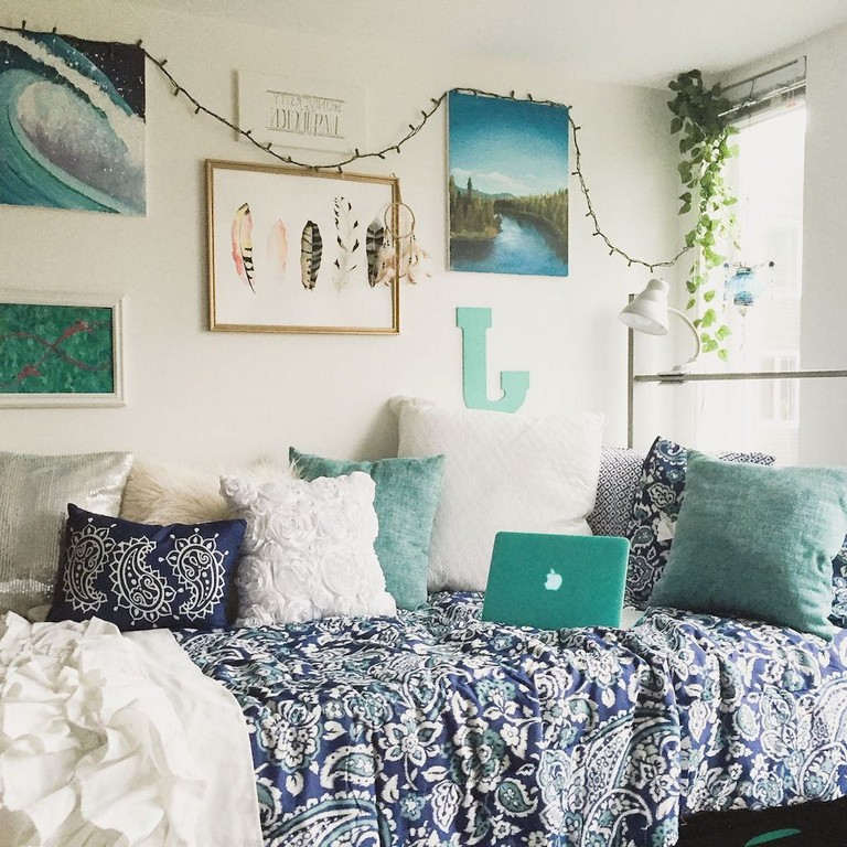 35 Magnificent Diy Rustic Home Decor Ideas On A Budget: 90+ Rustic Dorm Room Decorating Ideas On A Budget