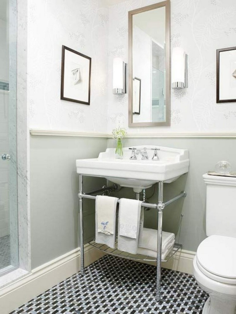 7 Small Space Makeovers: 35+ Luxury Bathroom Makeovers Ideas For Small Space