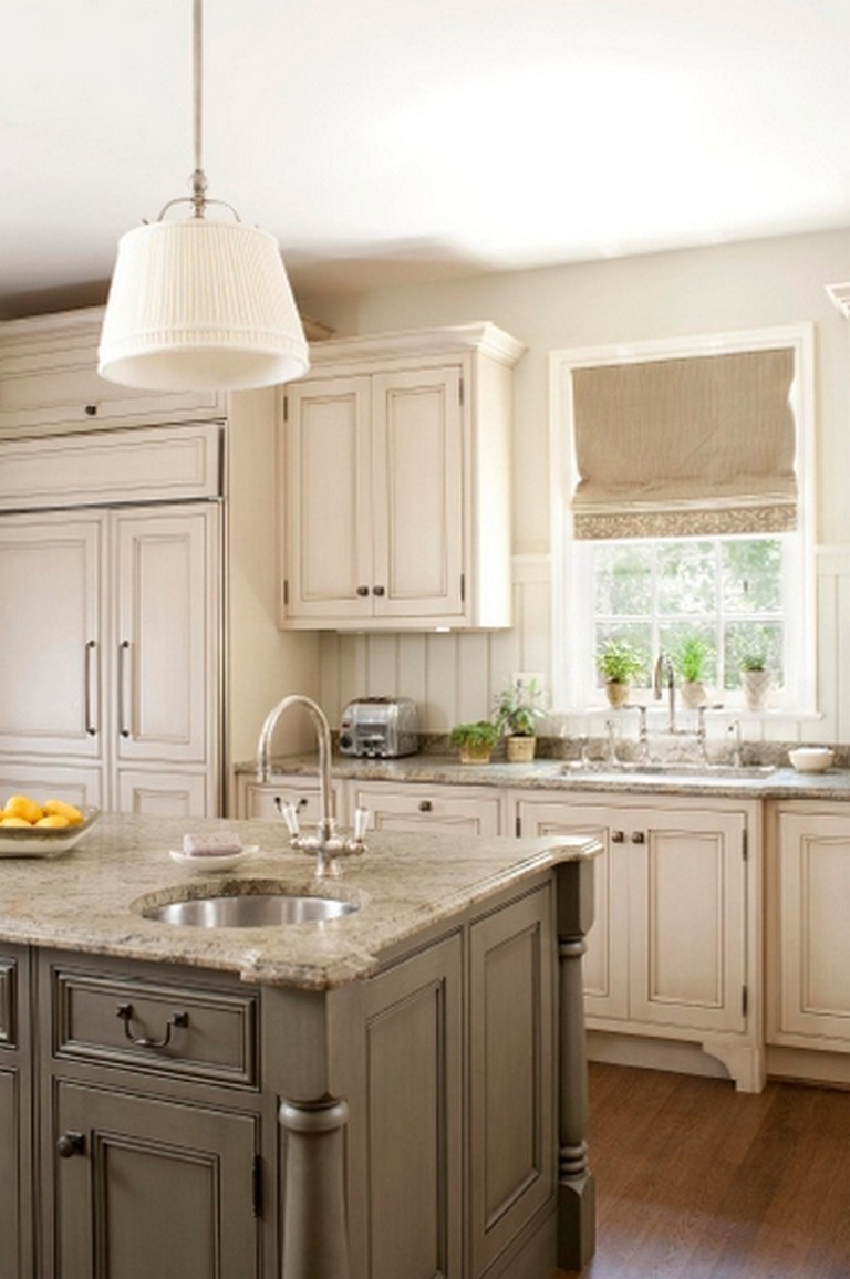50 Easy And Elegant Cream Colored Kitchen Cabinets Design Ideas Page 15 Of 122
