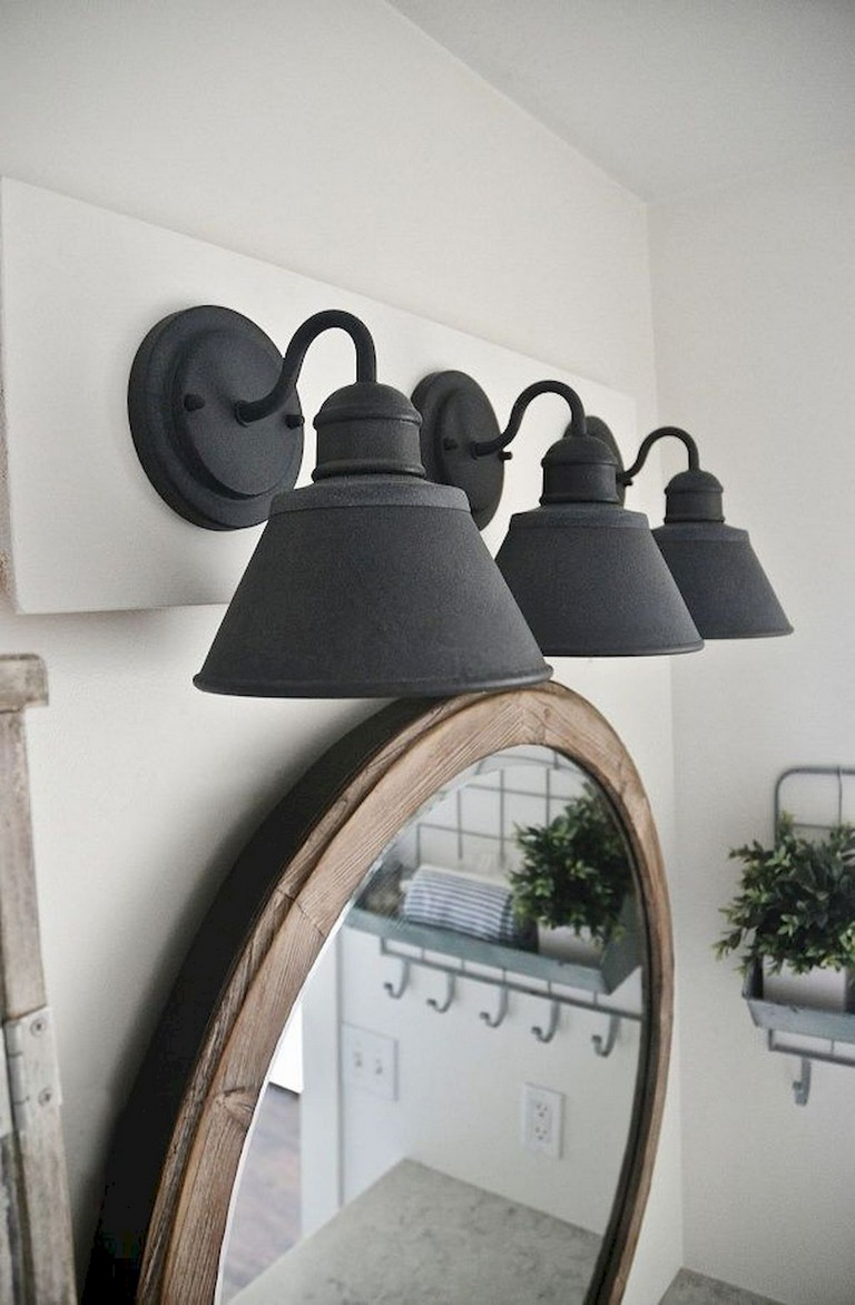 65 Incredible Lamp For Farmhouse Bathroom Lighting Ideas Page 4 Of 75